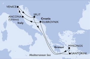 MSCSINFONIA - Italy, Croatia & Greece